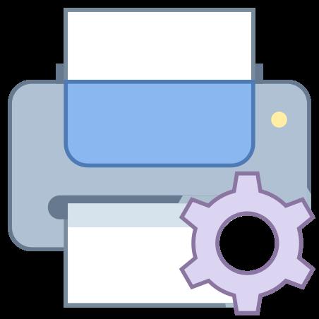 Wartung des Druckers icon