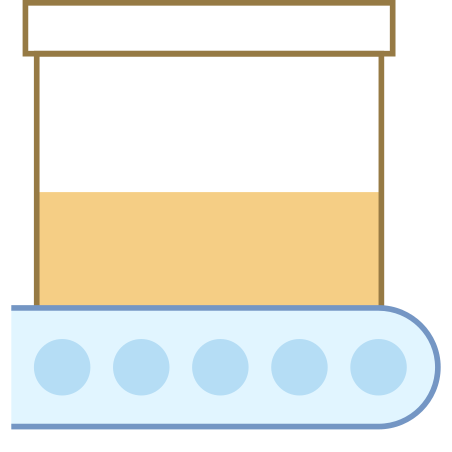Production In Progress icon in Office L