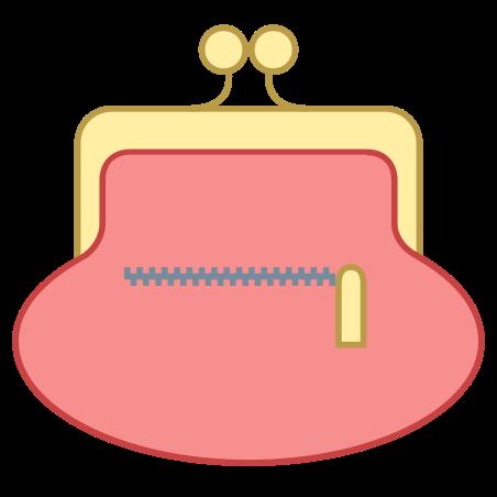 후면 지갑 icon