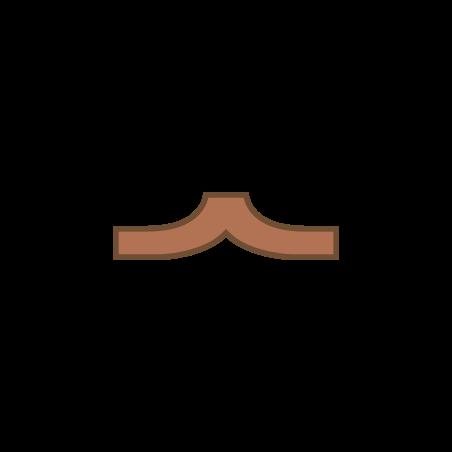 피라미드 콧수염 icon