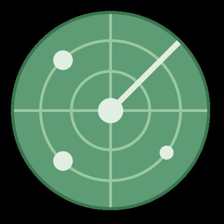 레이더의 icon