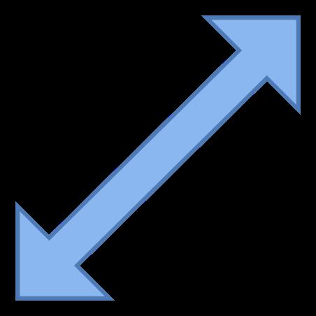 Redimensionar Diagonal icon