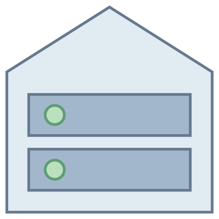 Root Server icon in Office L