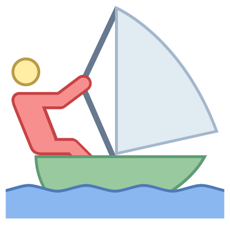Sailing icon in Office L