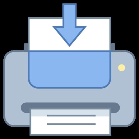 Send to Printer icon in Office L
