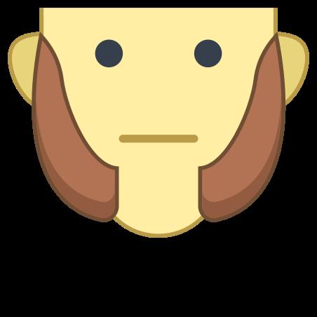 짧은 구레나룻 icon