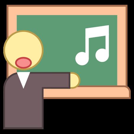 Singing icon