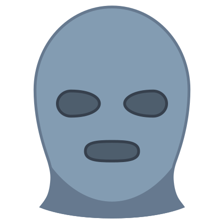 Black Ski Mask icon
