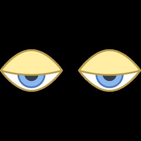 眠そうな目 icon