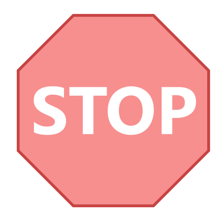 Stop Sign icon in Office L