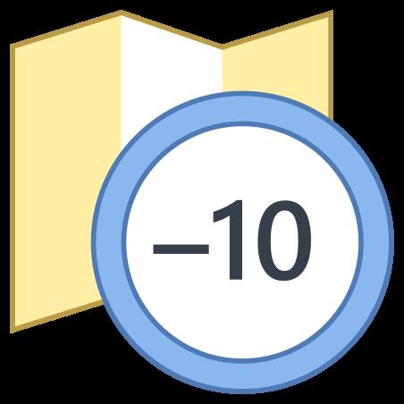 Timezone -10 icon in Office L