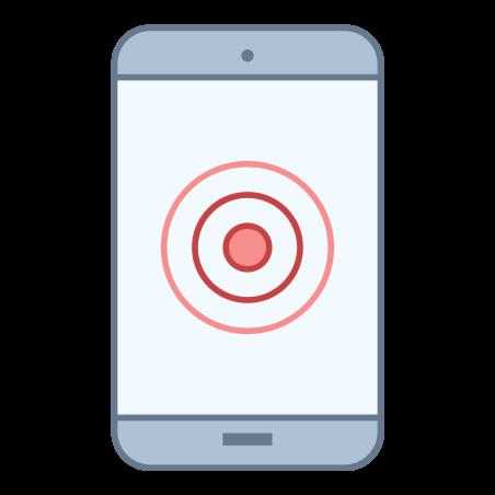 Smartphone Touchscreen icon