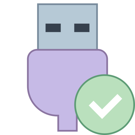 USB Connected icon