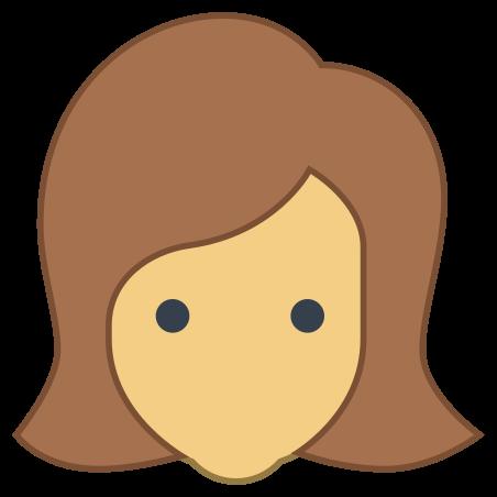 User Female Skin Type 4 icon