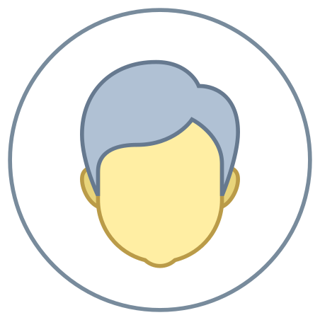 Male User icon in Office L