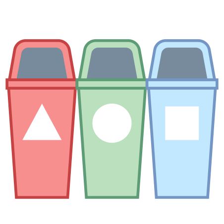 Waste Separation icon in Office L