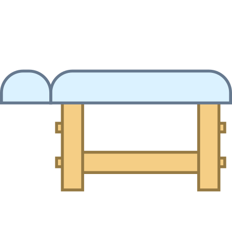 Wooden Massage Table icon in Office L