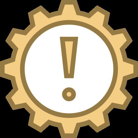 Advertencia de caja de cambios automática icon