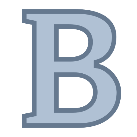 Bold icon in Office S