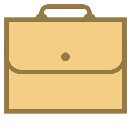 Briefcase icon in Office S