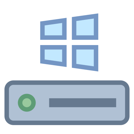 C Drive icon in Office S