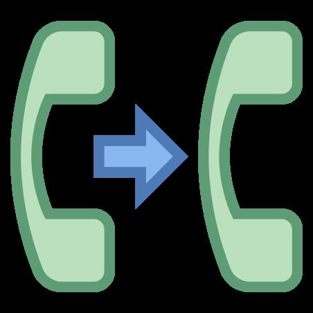 전화 연결 icon