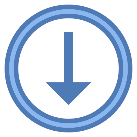 Scroll Down icon