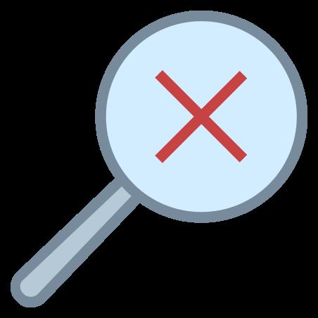 삭제 검색 icon