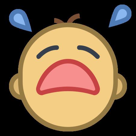 아기 우는 icon