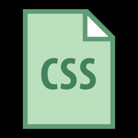 CSS Filetype icon