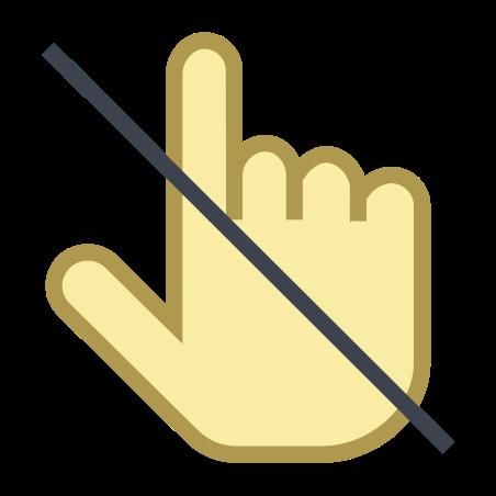 만지지 마세요 icon