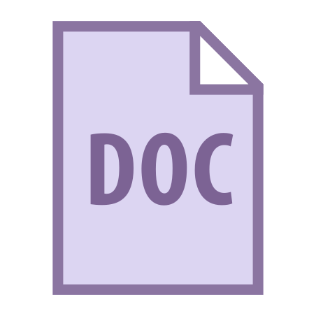 DOC icon in Office S