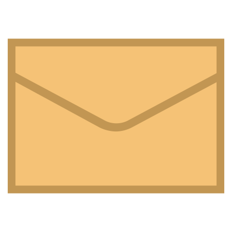Envelope icon in Office S