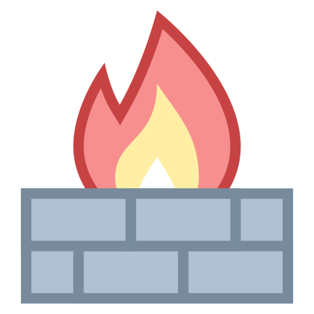 Firewall icon in Office S