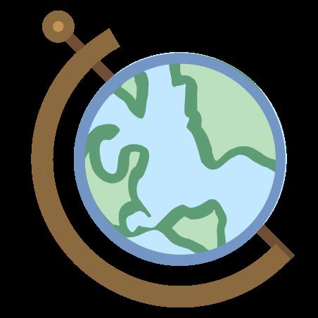 글로브 지구 icon