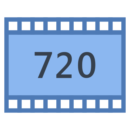 HD 720p icon in Office S