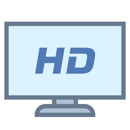 HDTV icon in Office S