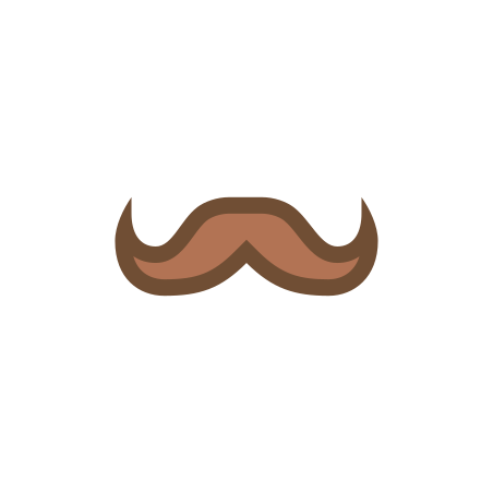 Hercule Poirot Mustache icon