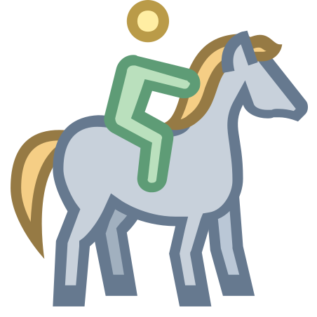 Horseback Riding icon in Office S