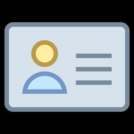 아이디 카드 icon