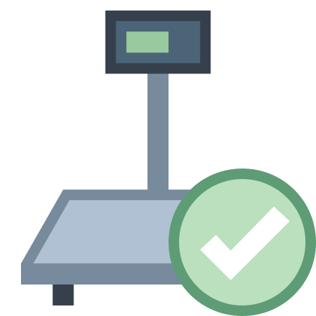 Industrial Scales Connected icon