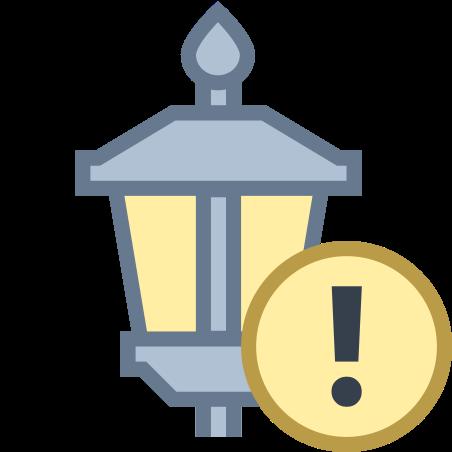 Lamp Post Error icon