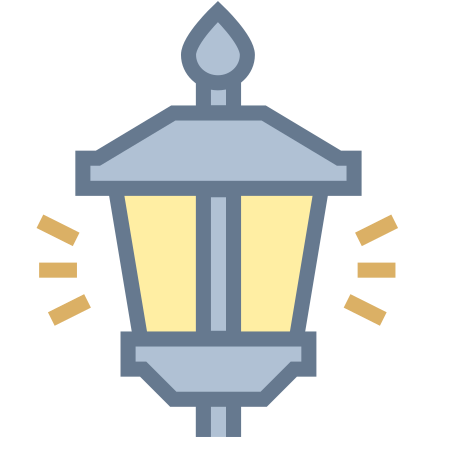 Lamp Post On icon