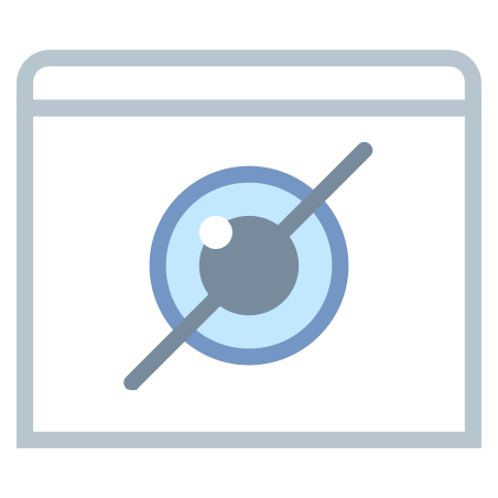 Mark View As Hidden icon in Office S