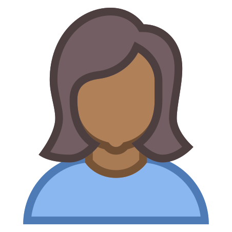 Person Female Skin Type 6 icon