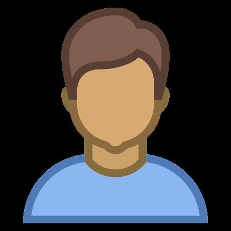 Person Male Skin Type 5 icon