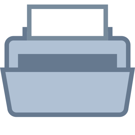 Printer icon in Office S