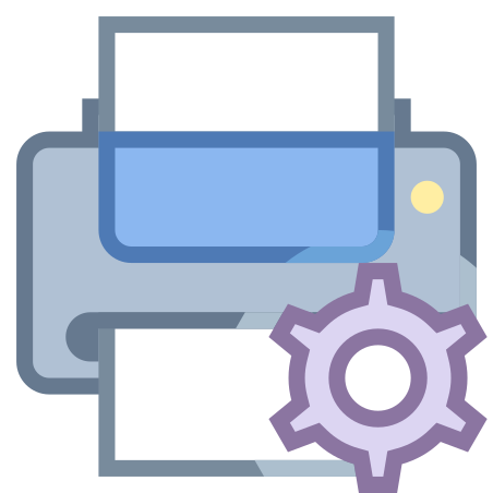 Printer Maintenance icon in Office S