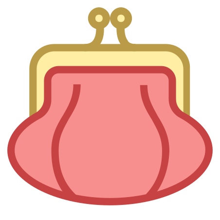 Purse Front View icon in Office S