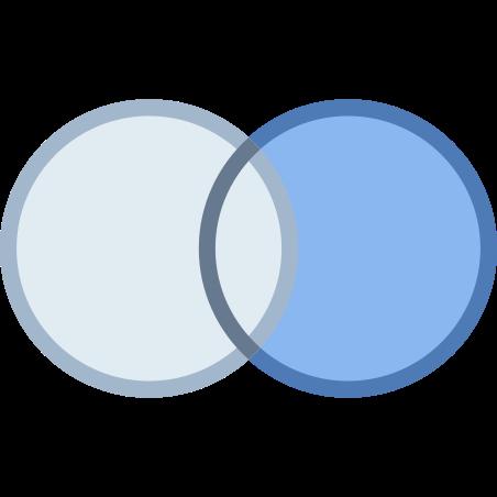 쿼리 외부 오른쪽 가입 icon
